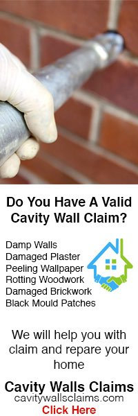 Cavity Wall Claims